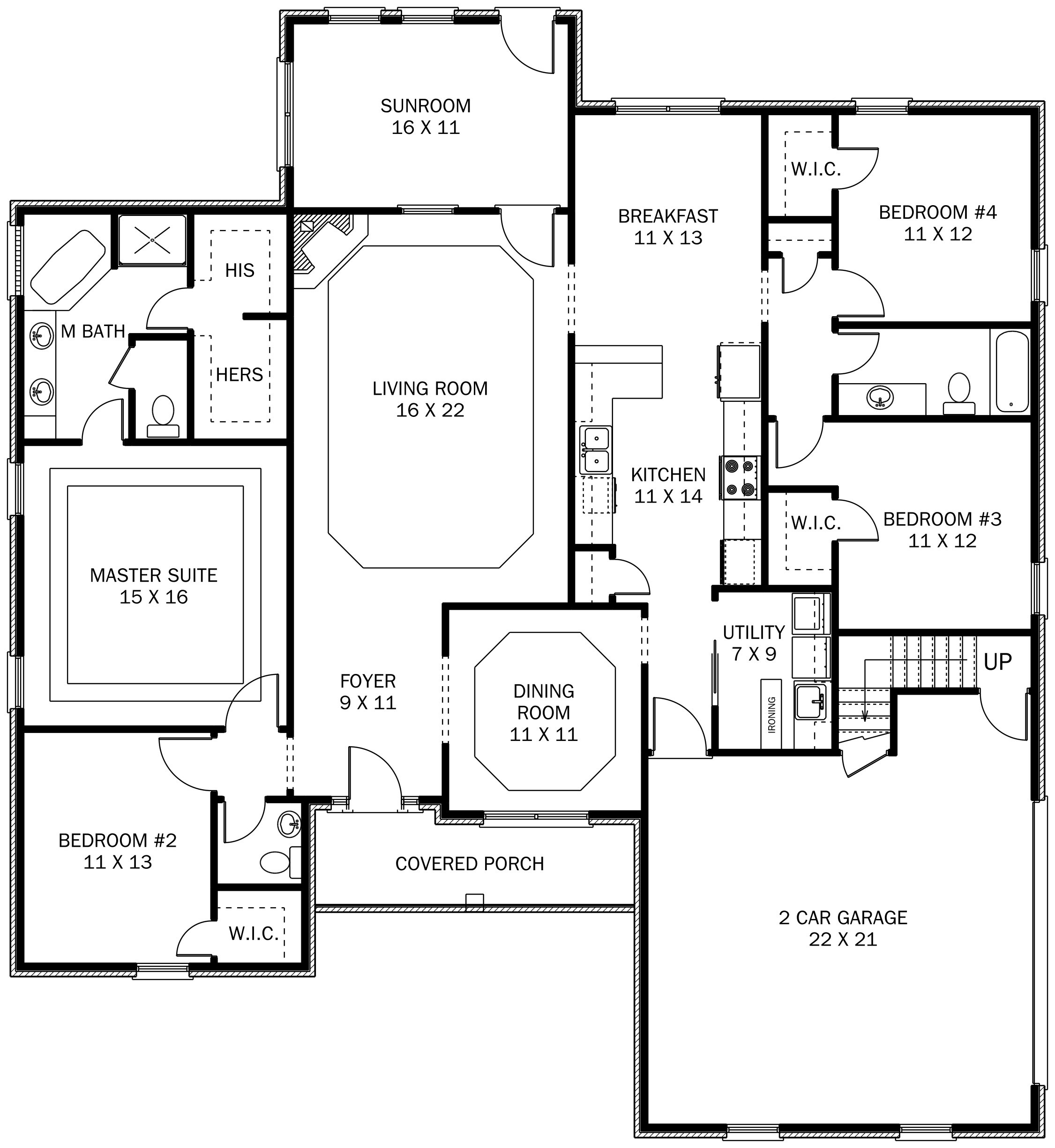 Dan Hill Construction House Floor Plan